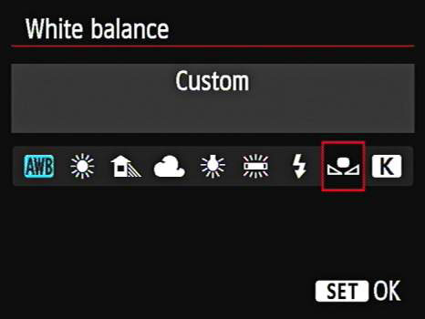 how to create a custom white balance on your canon eos 6d dummies rh dummies com manual white balance canon 600d white balance setting canon