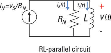 Analyze a Parallel RL Circuit Using a Differential Equation