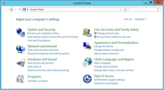how to open the desktop s control panel on your windows 8 tablet