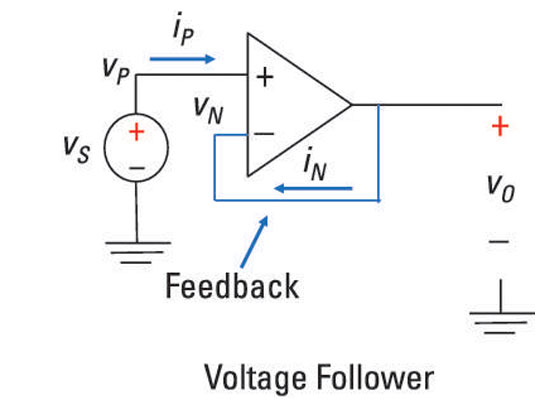 analyze noninverting op amp circuits
