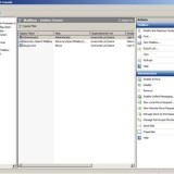 Microsoft Exchange Management Console.