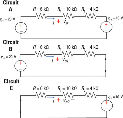 Analyze Circuits with Two Independent Sources Using