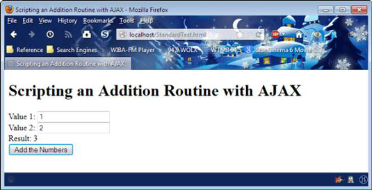 How to Retrieve Results from AJAX Calls with JavaScript - dummies