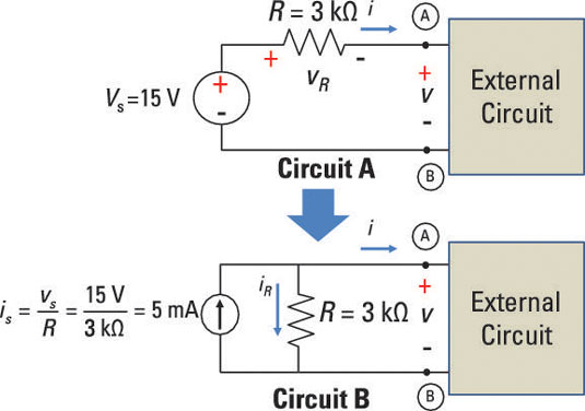Simplify Circuit Analysis by Transforming Sources in Circuits - dummies