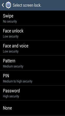 Put a Screen Lock on Your Galaxy S 4 - dummies