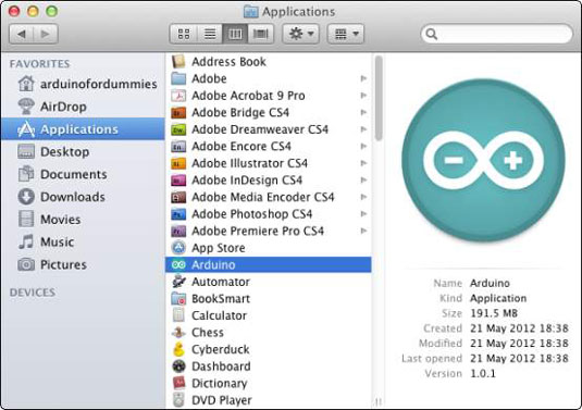 How to install arduino for mac os dummies