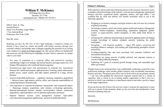 resume letters for candidates with top qualities
