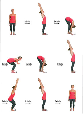 How to rejuvenate with a 9 step yoga sun salutation dummies image0g m4hsunfo
