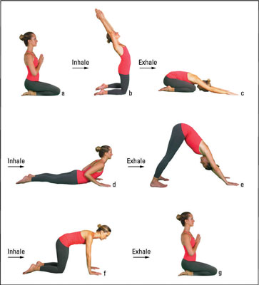 How to do the 7 step yoga kneeling sun salutation dummies image0g m4hsunfo