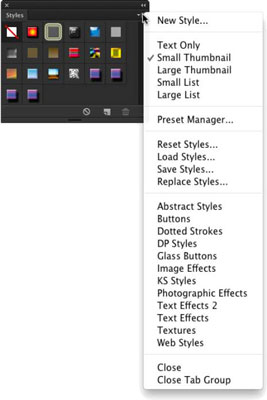 Use the Styles Panel in Photoshop CC - dummies