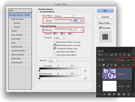 How to create a copyright logo in photoshop transparent boxes
