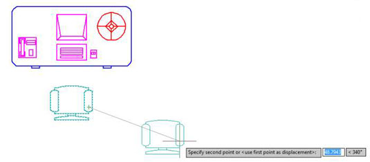 How to Use the Move Command in AutoCAD 2014 - dummies