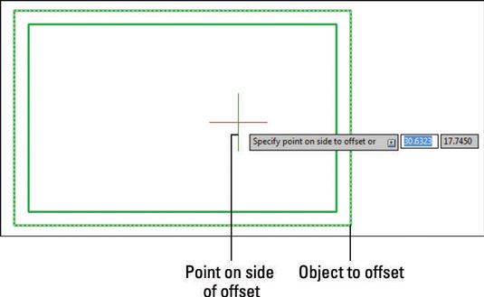 How To Use Offset In Autocad 2014 Dummies