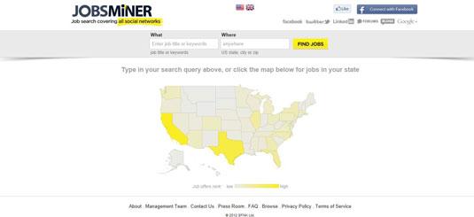 JobsMiner's website.