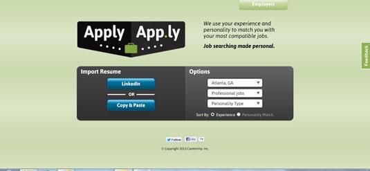 Job-matching service ApplyApp.ly