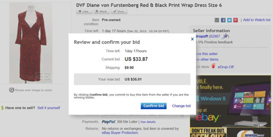 How To Bid On An Ebay Auction Dummies