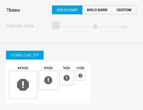 Halo light icons.