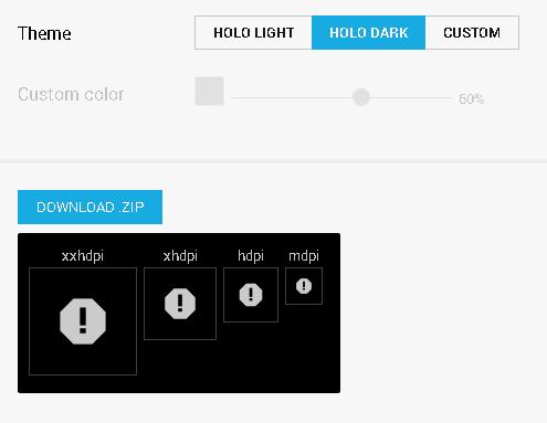 Halo dark icons.