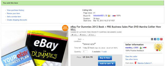How To Relist Items On Ebay Without Extra Work Dummies