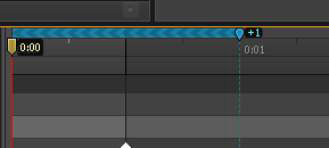 Animating backward by moving the Pin down the Timeline.