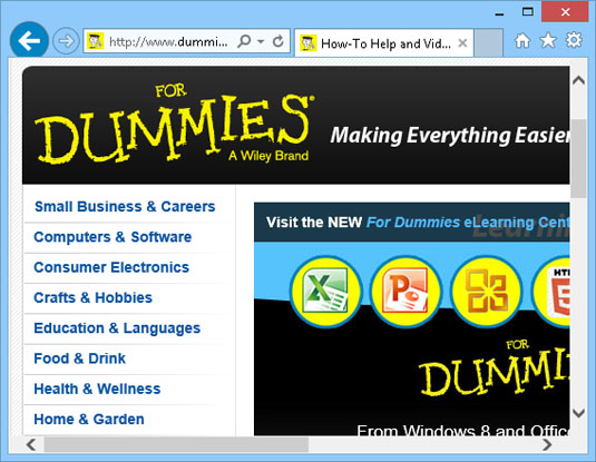 Put Menus and Toolbars back on Internet Explorer 11 - dummies