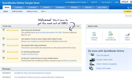 How To Use QuickBooks Simple Start For Your Business