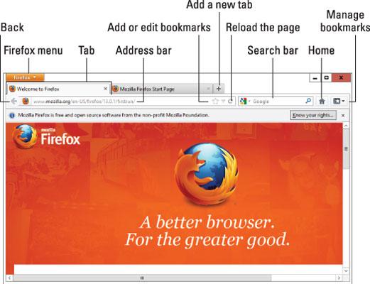 Customizing Firefox for Use in Windows 8 1 - dummies