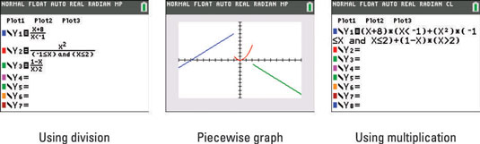 How to Graph Piecewise-Defined Functions on the TI-84 Plus