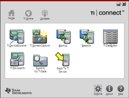 TI Connect Software for the TI-84 Plus - dummies