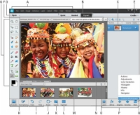 An open image in the expert mode of Photoshop.