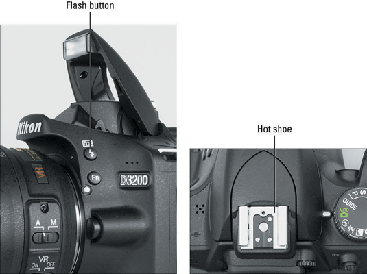 How to Use the Built-In Flash on Your Nikon D3200 - dummies
