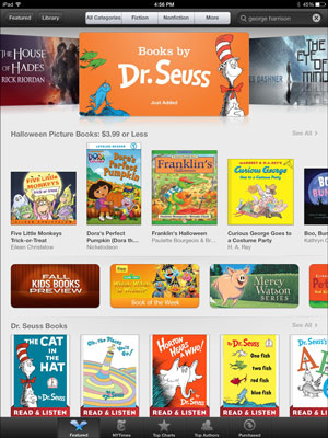 How to Browse the iBooks Store - dummies