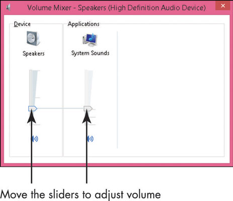 How to Adjust the Volume on a Windows Laptop - dummies