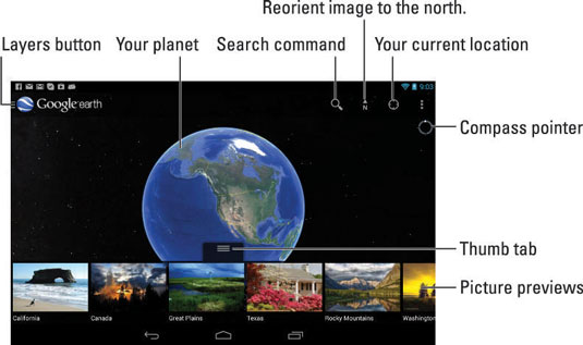 Google World Map App.How To Use Google Earth On The Nexus 7 Tablet Dummies