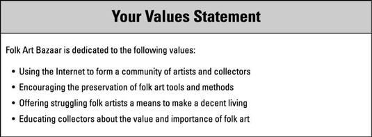 How to write a value statement custom literature review writers website