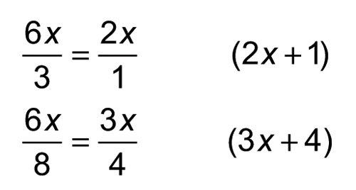 simplifying and factoring expressions
