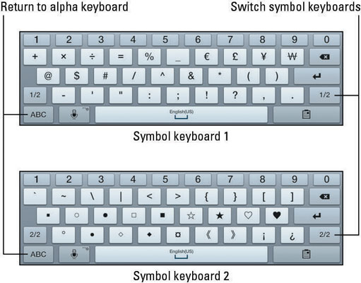 How To Access Special Keyboard Symbols On Your Samsung Galaxy Tablet