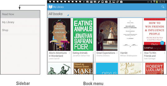 ebook reader app for samsung galaxy tab 3