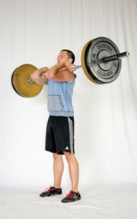 paleo fitness exercise the front squat  dummies