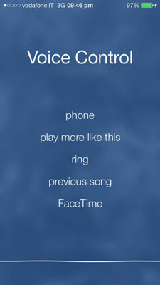 Iphone Voice Control >> How To Use Voice Control On Your Iphone Dummies