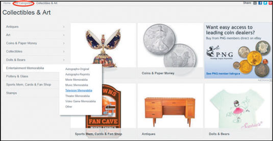 How To Maneuver Through Ebay Categories Dummies