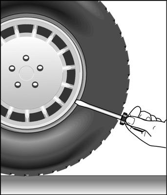 change  tire dummies