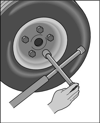 Tire Changing Hand Tools >> How to Change a Tire - dummies