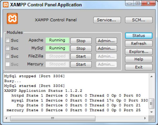 How to Create Your Own Server with XAMPP for HTML5 and CSS3