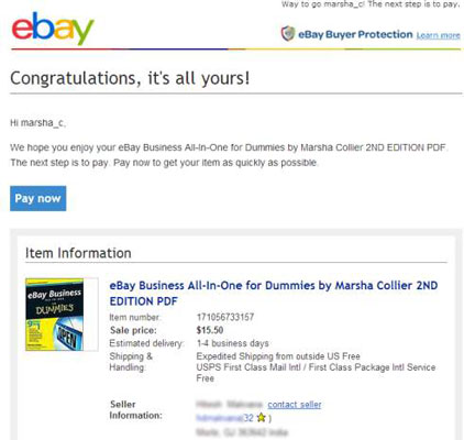 Talking To Buyers The Abcs Of Good Ebay Communication Dummies
