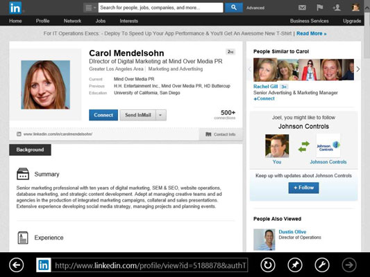 How to Browse Your LinkedIn Connections' Networks - dummies