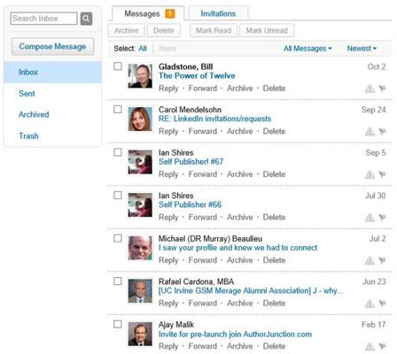 How to Use Your LinkedIn Inbox - dummies