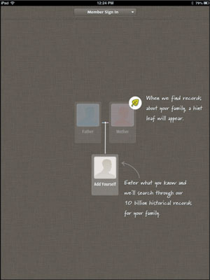 How to Use the Ancestry App on an iPad - dummies