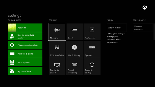 How to Test the Network Connection on Your Xbox One - dummies