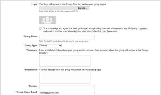 How To Create A Linkedin Group Dummies